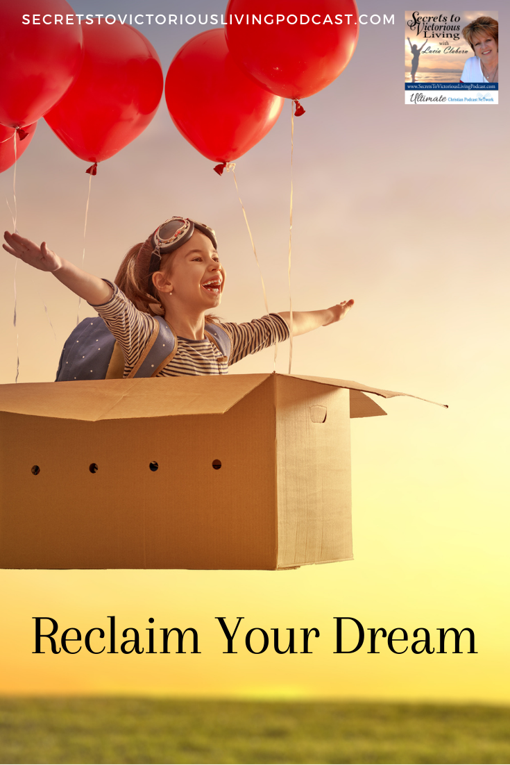 Reclaim Your Dream from the enemy so you can fulfill God's purpose on your life!