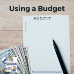 If you and your family want financial security, following a budget is the only answer.