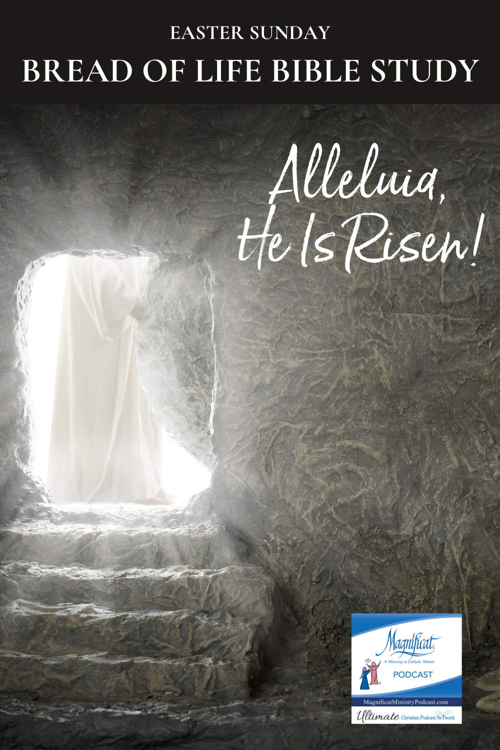 "Easter Sunday - He is alive in you and me and we are being challenged to bring Him to our families, our friends, our communities, the poor, the broken, the lost, and to all we encounter in our daily lives. He will be seen by the love we have for one another. We are His beloved. ""Alleluia, He is alive."""