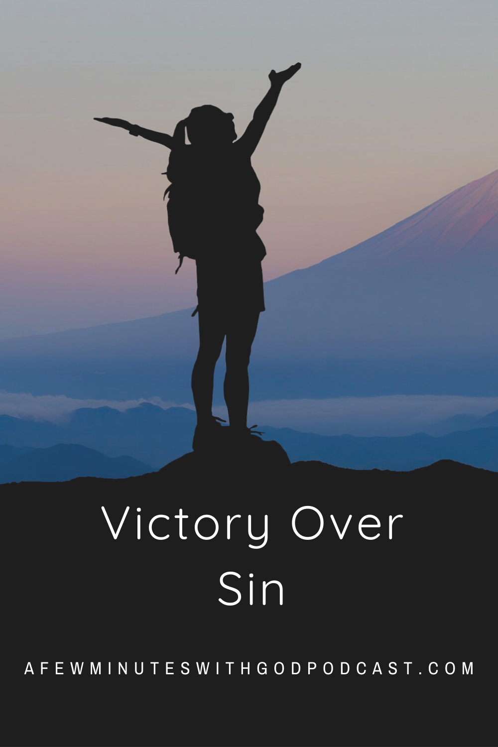 Victory Over Sin | There is victory over sin and in this episode we will talk about the true victory that comes from a relationship with Christ! | #podcast #christianpodcast #victoryoversin #sin #victory