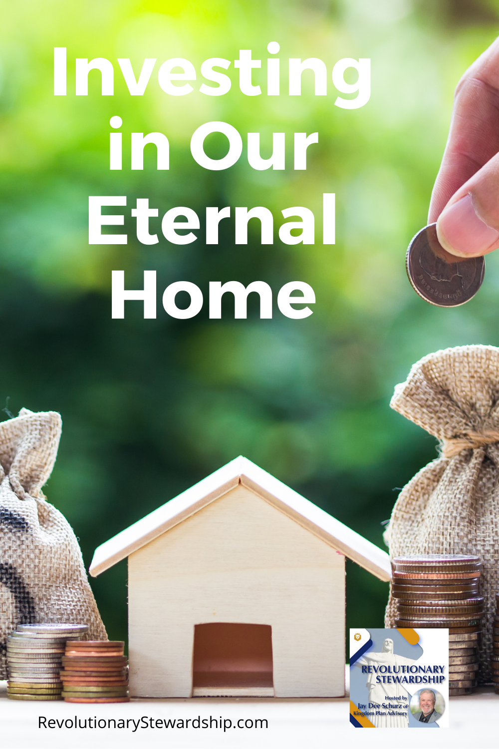 Why do we focus on material things in a place where we are here just for a short time? God has entrusted us with blessings of many things that we are to steward.