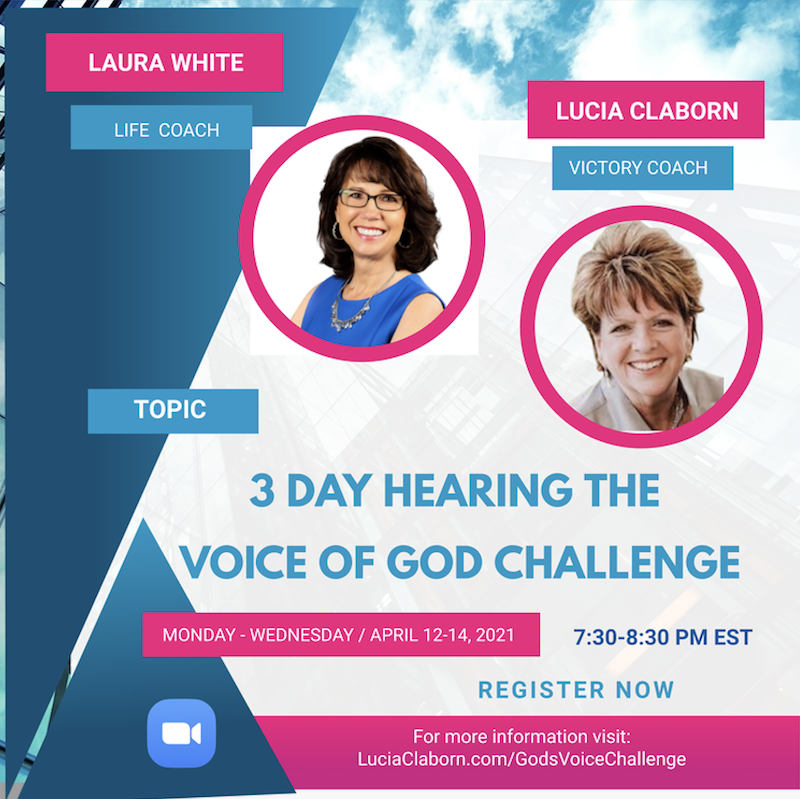 Life and Leadership Coach Laura White joins the show to talk about Hearing the Voice of God.