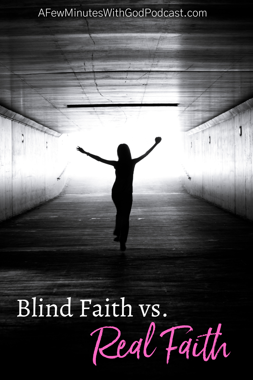 Blind faith is not what is required of us. We should question and wonder in our walk with the Lord, but truthfully while we believe without seeing, it is far from blind faith. #podcast #christianpodcast