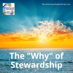 """""""Why"""" is good stewardship important? The question is critical in understanding God's plan for us."""